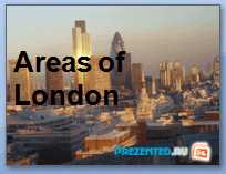 Районы Лондона (Areas of London)