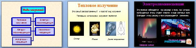 Слайды презентации: Виды излучений. Шкала электромагнитных излучений