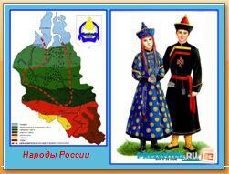 Народы России. Буряты