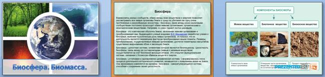 Слайды презентации: Биосфера. Биомасса