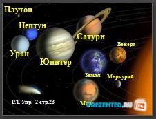 Солнечная система. Планеты-гиганты