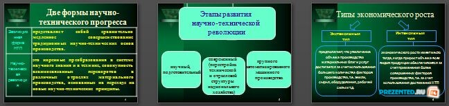 Слайды презентации: Научно-технический прогресс (НТП)
