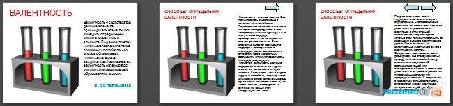 Слайды презентации: Валентность и степень окисления