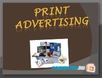 PRINT ADVERTIZING (Печатная реклама)