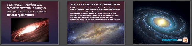 Слайды презентации: Галактики