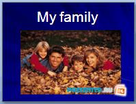 Моя семья (My family)