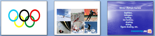 Слайды презентации: Олимпийские игры (Olympic games)