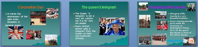 Слайды презентации: Традиции Британии (British traditions)
