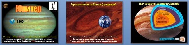 Слайды презентации: Планеты-гиганты