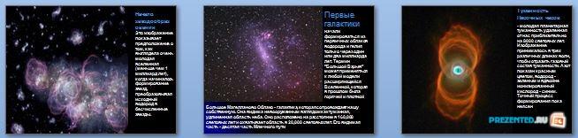 Слайды презентации: Теория большого взрыва