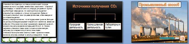 Слайды презентации: Круговорот углекислого газа в природе
