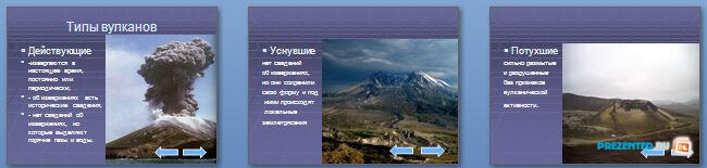 Слайды презентации: Вулканы