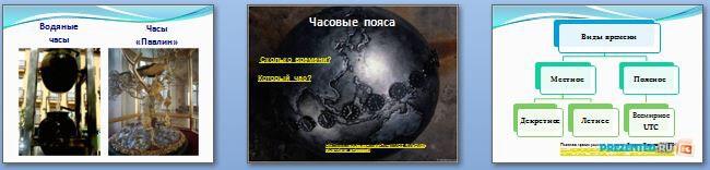 Слайды презентации: Россия на карте часовых поясов