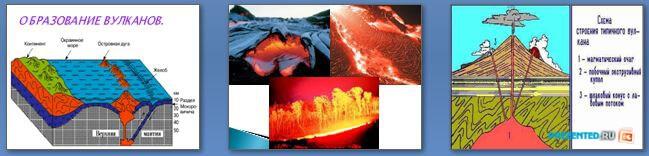 Слайды презентации: Стихийные природные явления в литосфере