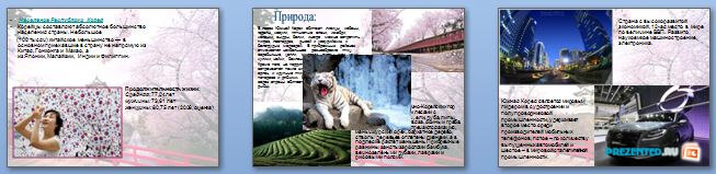 Слайды презентации: Южная Корея