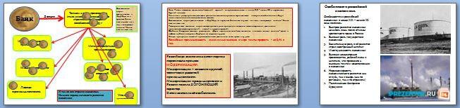 Слайды презентации: Экономическое развитие России в начале XX века