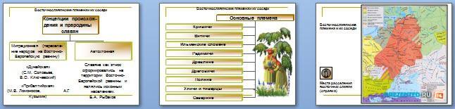 Слайды презентации: Народы и древнейшие государства на территории России