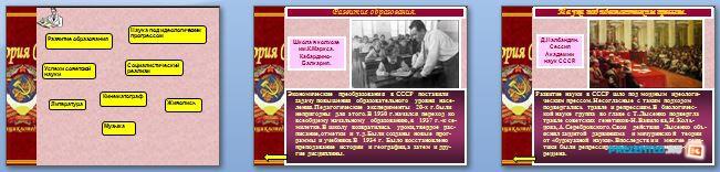 Слайды презентации: Советская культура 1930-х годов