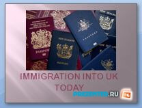 Иммиграция в Великобритании (Immigration into UK today)