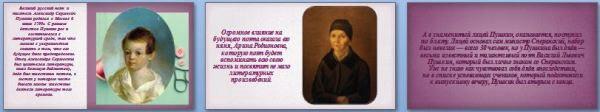 Слайды презентации: Александр Сергеевич Пушкин