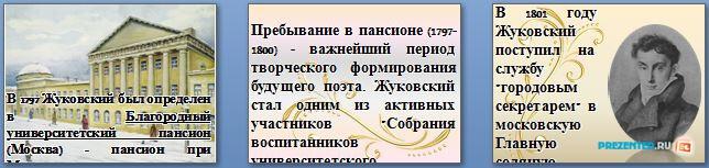 Слайды презентации: Жуковский Василий Андреевич
