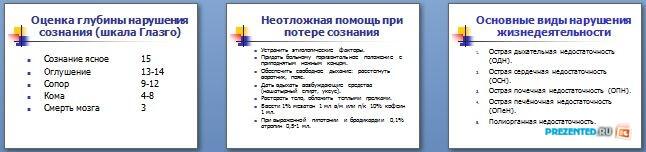 Слайды презентации: Критические нарушения жизнедеятельности у хирургических больных