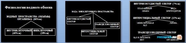 Слайды презентации: Водно-электролитные нарушения и их коррекция