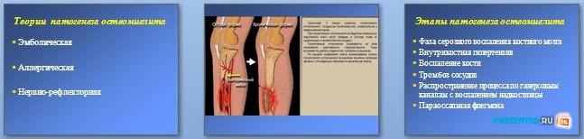Слайды презентации: Гнойные заболевания костей и суставов