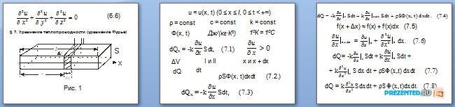 Слайды презентации: Важнейшие уравнения математической физики