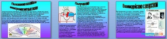 Слайды презентации: Рентгеновские лучи и их применение
