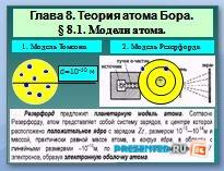 Теория атома Бора