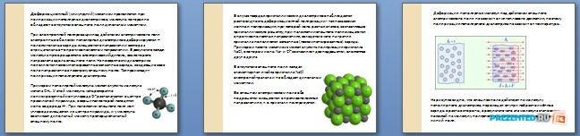 Слайды презентации: Проводники и диэлектрики, зонная теория твердого тела