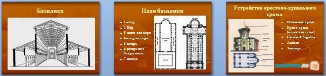 Слайды презентации: Архитектурный облик Древней Руси 9-12 века