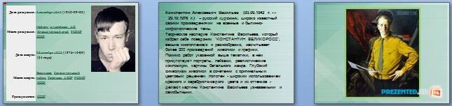 Слайды презентации: Васильев Константин Алексеевич